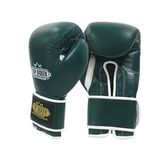 탑복서 가죽 밸크로 복싱글러브 딥그린 (10oz/12oz) TopBoxer Leather Velcro Boxing Gloves DeepGreen