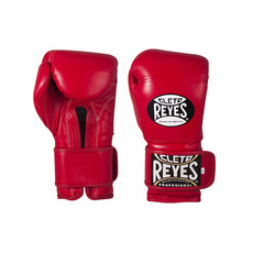 클레토 레예스 트레이닝 훅앤룹 글러브 벨크로 클로져 Cleto Reyes Training Hook and Loop Gloves with Velcro Closure Classic 12oz Red