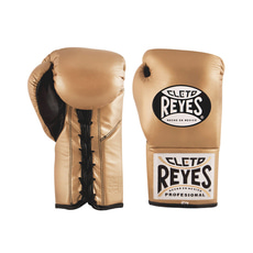 클레토 레예스 경기용 글러브 Cleto Reyes Official Professional Boxing Gloves(gold)
