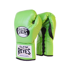 클레토 레예스 경기용 글러브 그린 Cleto Reyes Official Professional Boxing Gloves Green 8/10oz