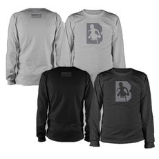 브루클린 복싱 [Brooklyn] Long Sleeve Compression GRAY_Man 그레이 사이즈 (S/M/L/XL)