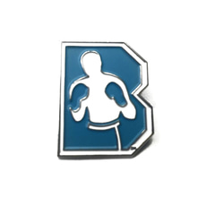 브루클린 복싱 [Brooklyn] Brooklyn Boxing Logo Man Pin