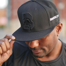 브루클린 복싱[Brooklyn]Logo Snapback (Black)