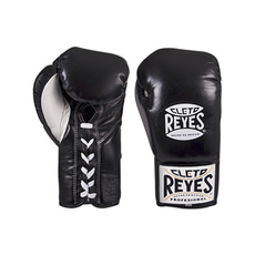 클레토 레예스 경기용 글러브 블랙 Cleto Reyes Official Professional Boxing Gloves Black 8 / 10oz