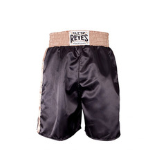 클레토 레예스 복싱 트렁크 Cleto Reyes Boxing trunk in satin polyester(BlackGold)L