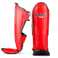 분스포츠 SPBK 신가드 레드 BOON SPORTS SPBK SHIN GUARDS RED