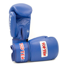 탑텐 AIBA 복싱 글러브 TOPTEN AIBA BOXING GLOVES 10OZ BLUE 블루
