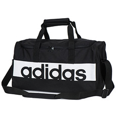 [아디다스] 리니어 퍼포먼스 스몰 팀백(S99954) Adidas Lin Performance Team Bag Small 2017 Gym Bag Sportstyle Black/White