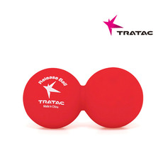 [트라택] 릴리즈볼 피넛형 (프린트) Tratac Release Ball Peanut (Print) Fitness Supplies Yoga Eventies