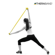 [세라밴드] 2M 운동밴드 저항 근력 [ TheraBand ] 2Mteel Band resistance strength New Sports school Physical Education