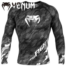 베넘 텍모 긴팔 래시가드 다크그레이 (S,M,L,XL) VENUM TECMO RASHGUARD LONG SLEEVES DARKGREY