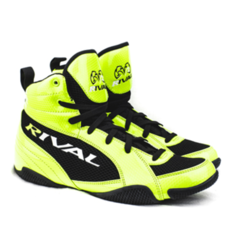 라이벌 복싱화 RIVAL LOW CUT BOXING BOOTS (LIME-BK)