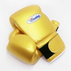 위닝 복싱글러브 (8OZ,14OZ,16OZ) 골드 WINNING BOXING GLOVES GOLD