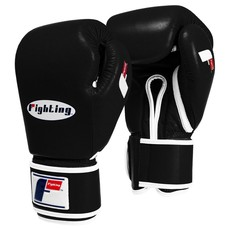 파이팅 스포츠 퓨리 프로페셔널 트레이닝 글러브 블랙 (12OZ,14OZ,16OZ,18OZ) FIGHTING SPORTS FURY PROFESSIONAL TRAINING GLOVES BLACK [FSFTGL]