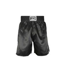클레토 레예스 복싱 트렁크 Cleto Reyes Boxing trunk in satin polyester(Black)