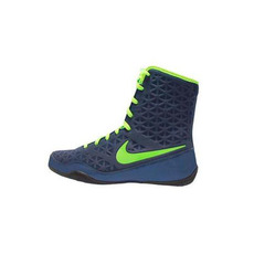 나이키 KO 복싱화 Nike KO Boxing Shoes - Navy / Electric Green (839421 413)
