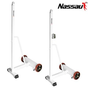 [낫소]배드민턴전용 이동식지주(NFC-W764)-네트줄감기부착형 Nassau Badminton Rovingness Pillar Net Row winding attachment type