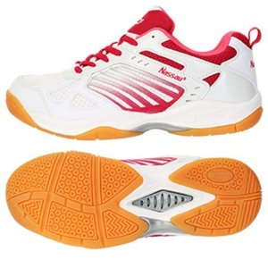 [낫소] 여성 NS 스매시 탁구화 핑크 Nassau Woman NS Smash Table Tennis Shoes Pink