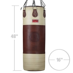 링사이드 헤리티지 라지 레더 90lb. 헤비백 RINGSIDE HERITAGE LARGE LEATHER 90lb. HEAVY BAG [HLHB]
