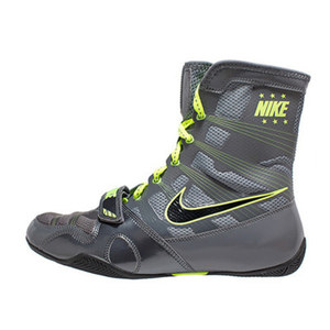 나이키 복싱화 하이퍼KO Nike HyperKO - Dark Grey / Black / Volt (634923-007)