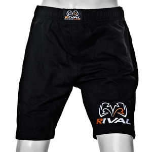 [라이벌] 트레이닝복 반바지 200 RIVAL TRAD Sweat Shorts with Bottom Leg Logo