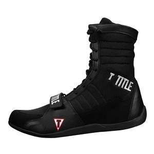 타이틀 링 프릭 복싱 슈즈 블랙/블랙 TITLE RING FREAK BOXING SHOES BLACK/BLACK [TBS18 BK/BK]