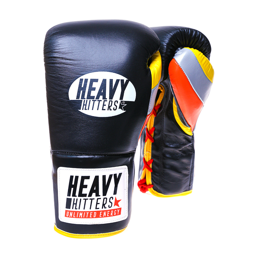 [헤비히터] 챔피언 레이스업 트레이닝 글러브 H6-BYO HEAVY HITTERS CHAMPION LACE-UP TRAINING GLOVES H6-BYO