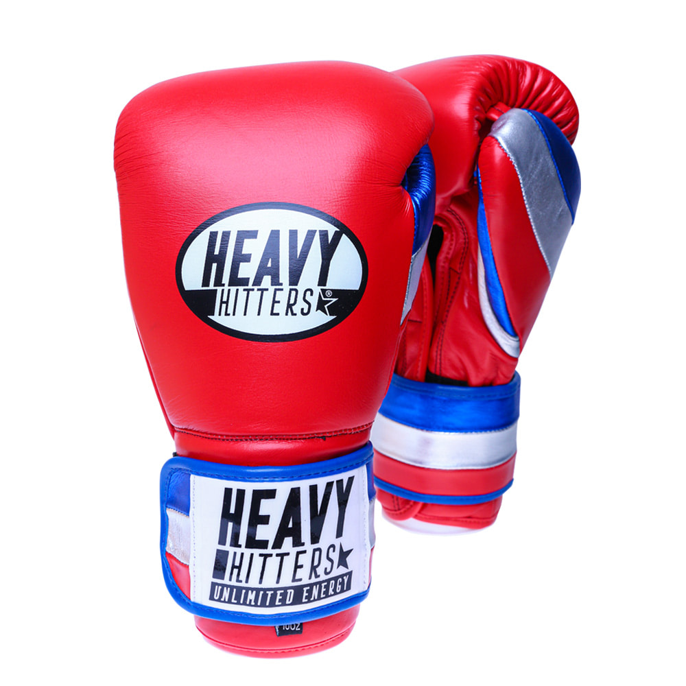 [헤비히터] 챔피언 벨크로 트레이닝 글러브 H6-RBW HEAVY HITTERS CHAMPION VELCRO TRAINING GLOVES H6-RBW