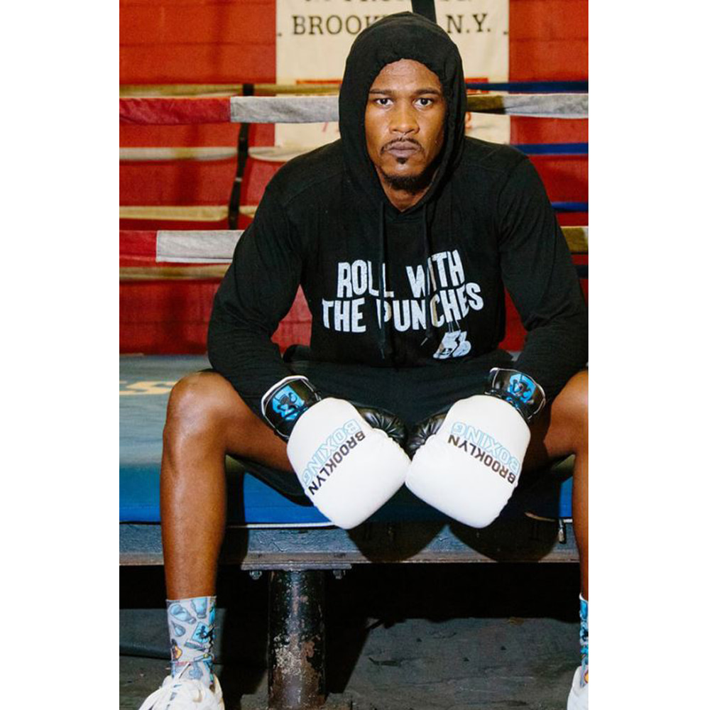 [브루클린][brooklyn] 후드 Roll With The Punches Beach Jersey Hoodie