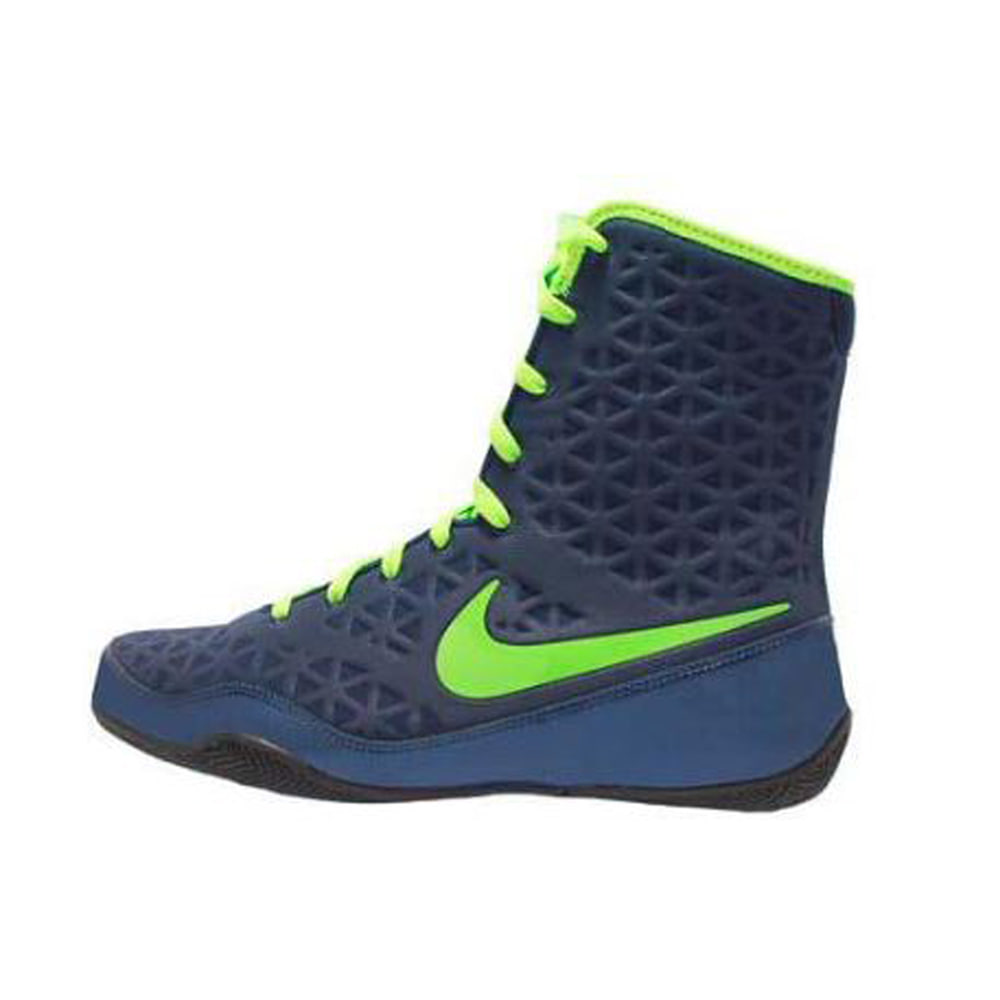 나이키 KO 복싱화 Nike KO Boxing Shoes - Navy / Electric Green (839421-413)