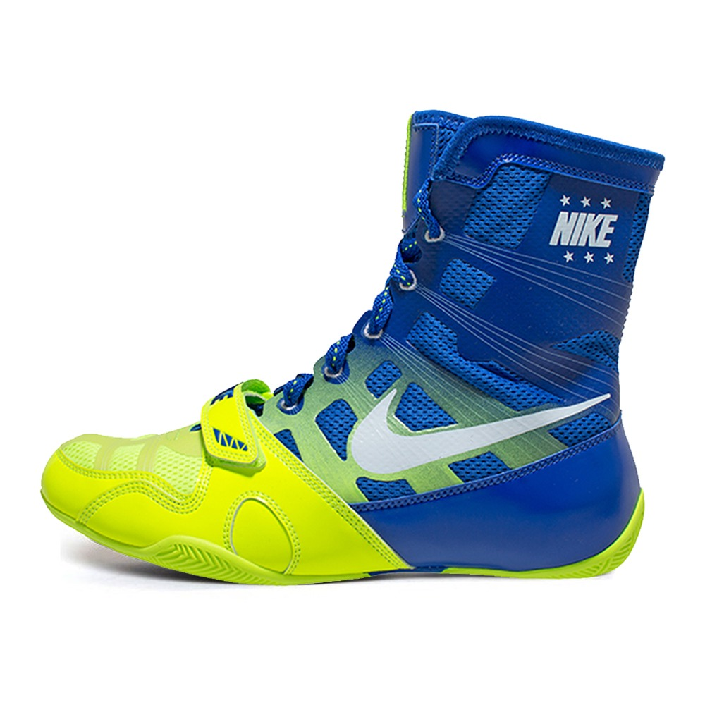 나이키 복싱화 하이퍼KO Nike HyperKO - Volt/White/Game Royal (634923-714)