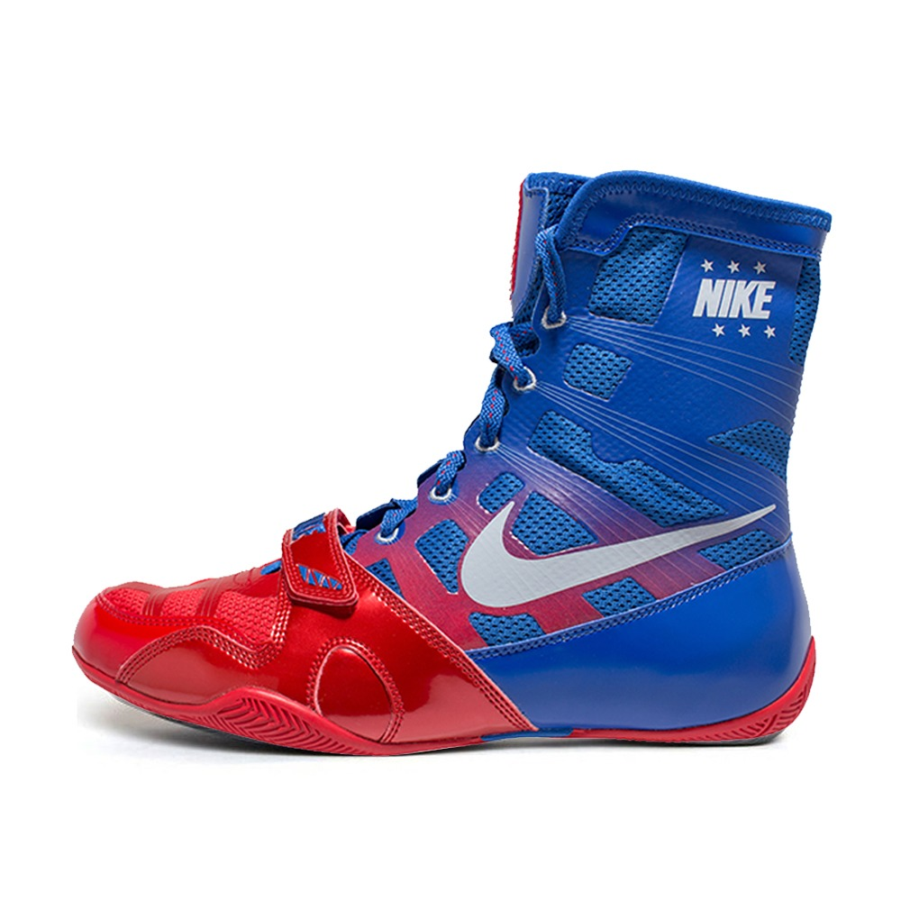 나이키 복싱화 하이퍼KO Nike HyperKO - Sport Red/Metallic Silver/Royal (634923-604)